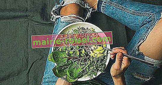 Qu'est-ce que d'être végétalien? Savoir et savoir en quoi il diffère du végétarisme
